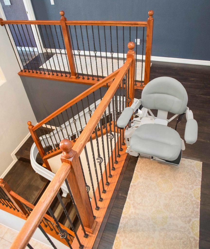Bruno Elite Curved Indoor Stairlift